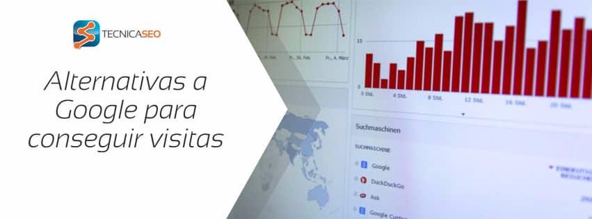 #PasodeGoogle: Alternativas para conseguir 1000 visitas sin el buscador