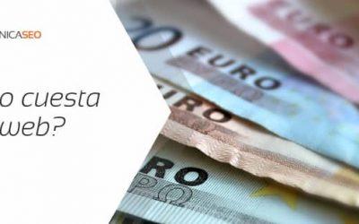 Cuanto cuesta una web profesional? De 90 a 800€