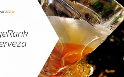 Aumentar el PageRank bebiendo cerveza!
