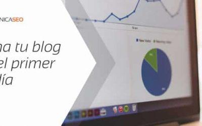 Cómo crear un blog que posicione desde el primer día