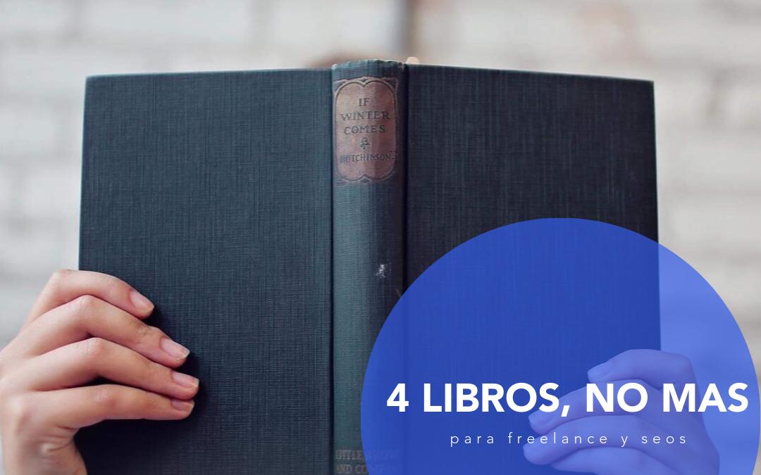 Los únicos 4 libros de SEO que necesitas leer