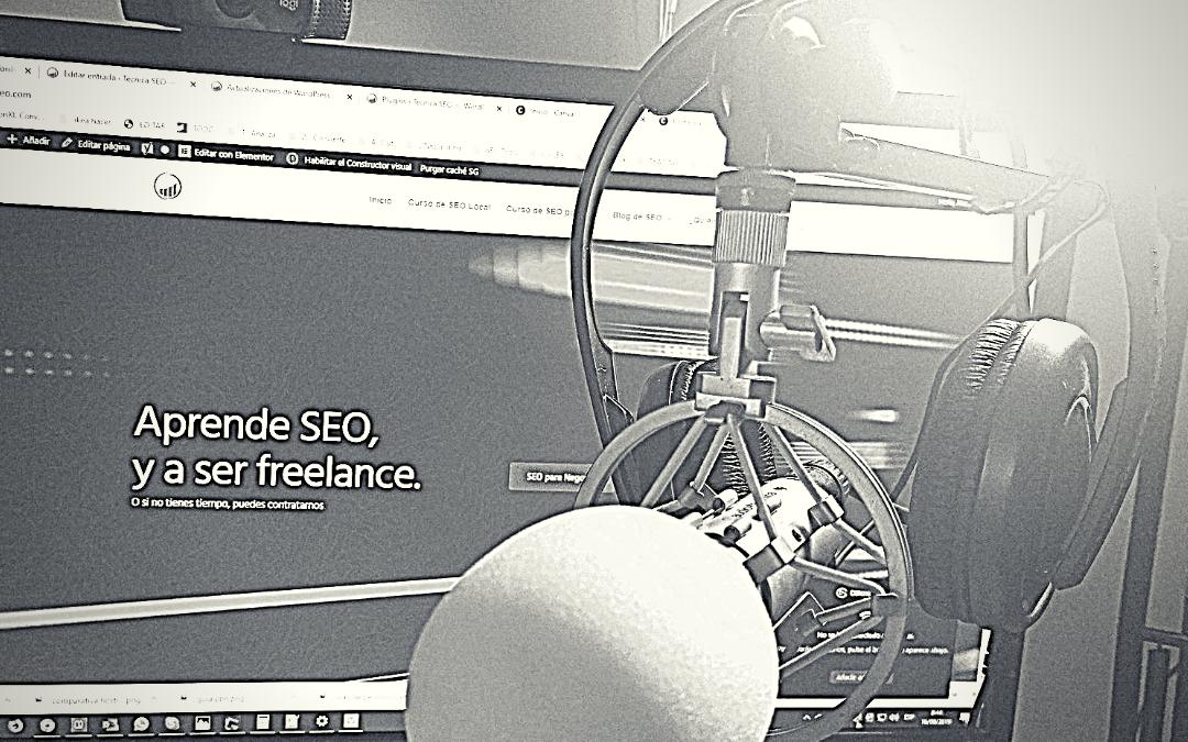 Podcast 009: Qué tareas SEO hago al publicar una web